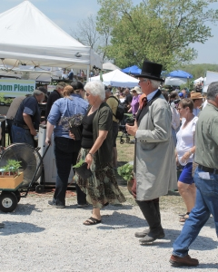 Ambassadors from All lands visit The Baker's Creek Seed Festival in Mansfield, MO
