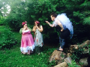 Custom Magickal Dresses available through magnolia@societyofmossandlace.com